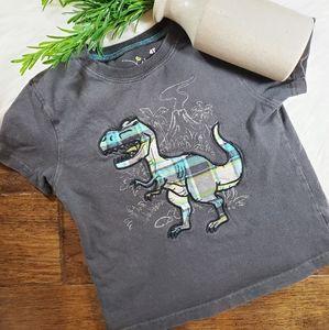 🌿5/$25 Jumping Beans Plaid Dinosaur Shirt | 4t